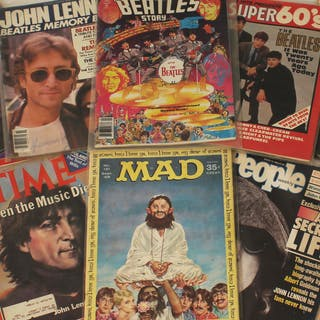 THE BEATLES MAGAZINE COLLECTION
