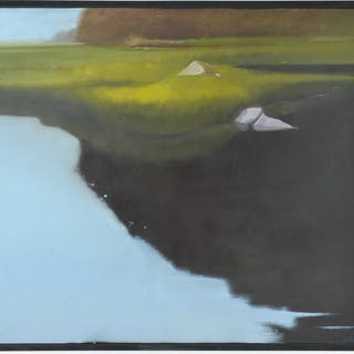 A.D. Tinkham, large scale painting