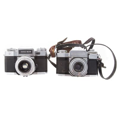 Two Zeiss Contaflex Cameras