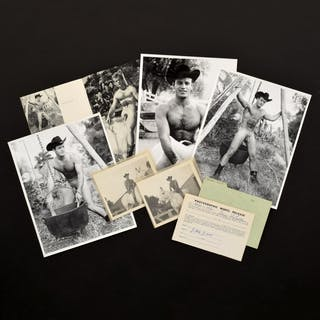 5 Bruce Bellas Nude Male Photos, Negatives, Catalog & Ephemera - Bruce