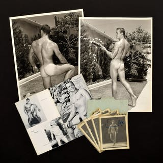 6 Bruce Bellas Nude Male Photos, Negatives, Catalog & Ephemera - Bruce
