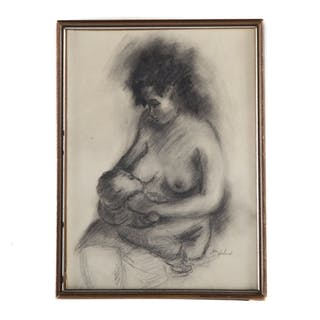 Ina Helrich. Mother and Child