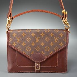Vintage Louis Vuitton monogram canvas handbag
