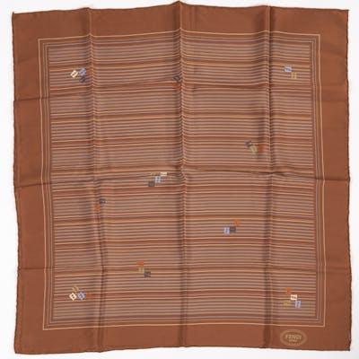 Vintage Fendi silk scarf