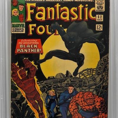 Marvel Comics Fantastic Four #52 CBCS 3.0