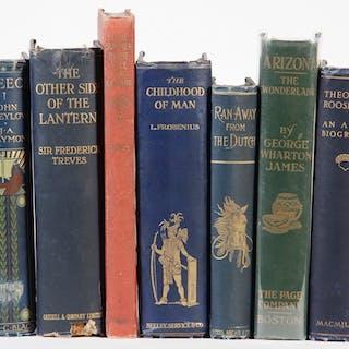 (7) BOOKS ON TRAVEL & HISTORY