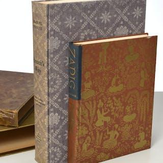 BOOKS: (2) Vols LEC, Proust, Voltaire