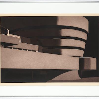 Frances Myers, Guggenheim etching