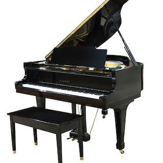 A K. Kawai ebonized grand piano model KG-1C