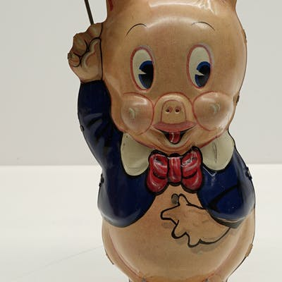 Marx Porky Pig Wind-Up Toy