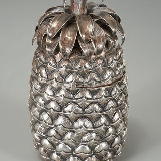 Tiffany & Co. sterling pineapple box