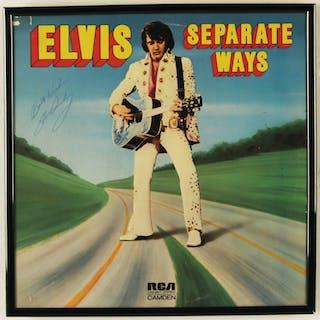 ELVIS PRESLEY SIGNED SEPARATE WAYS ALBUM