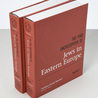 BOOKS: (2) Vols Encycl. of Jews in Eastern Europe