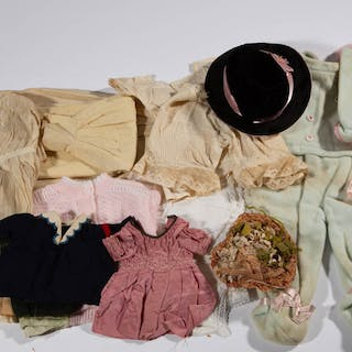 ASSORTED DOLL CLOTHING, LOT OF 15 PIECES