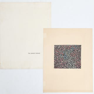 Mark Tobey, lithograph