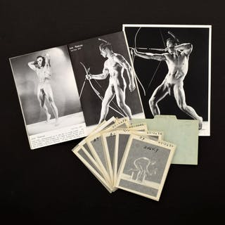 7 Bruce Bellas Nude Photos, Negatives, Catalog & Ephemera - Bruce
