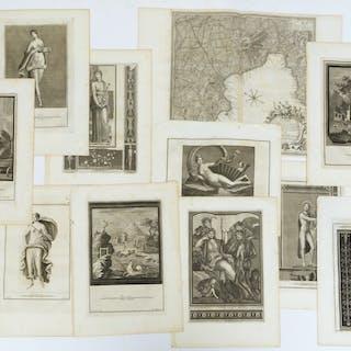 Le Antichita di Ercolano, (11) engravings