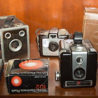 Assorted Items, Incl.: Cameras, Radios, etc.