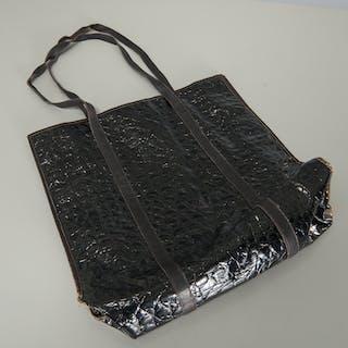 Salvatore Ferragamo shopping tote bag