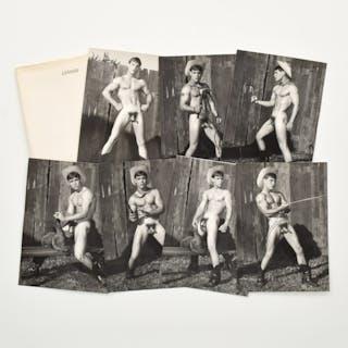 7 Bruce Bellas Nude Male Physique Photos - Bruce Bellas (1909-1974)