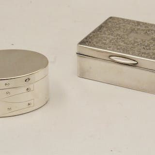 2 PC. LOT OF STERLING SILVER, INCL. TIFFANY