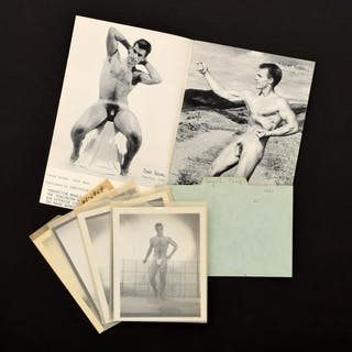 4 Bruce Bellas Nude Male Photos, Negatives, Catalog & Ephemera - Bruce