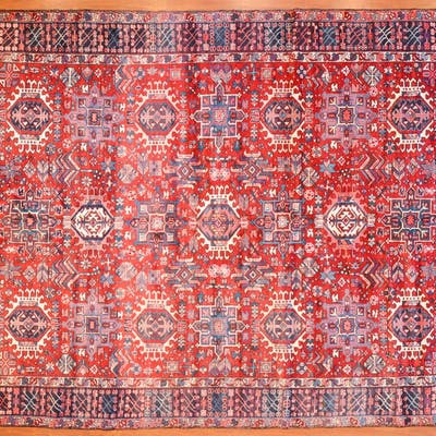 Karaja Rug, Persia, 8.7 x 10.10