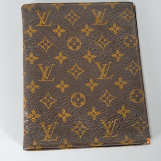 Louis Vuitton monogram canvas address book cover