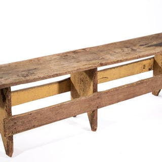 VIRGINIA COUNTRY PAINTED PINE BENCH