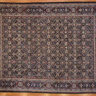 Fine Sino Meshed Carpet, China, 9 x 12