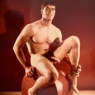 Bruce Bellas Nude Male Physique Photo - Bruce Bellas (1909-1974)