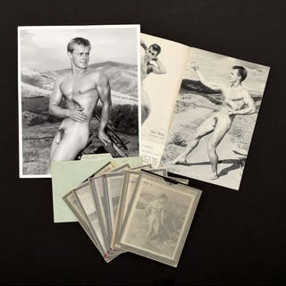 7 Bruce Bellas Nude Male Photos, Negatives, Catalog & Ephemera - Bruce