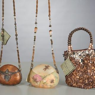 Group of Maya & Veni Evangelista purses