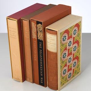 BOOKS: (4) Vols, LEC, Greek & Roman history