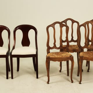 6 MISCELLANEOUS CHAIRS
