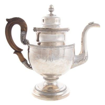 Impressive Philadelphia Coin Silver Coffee Pot