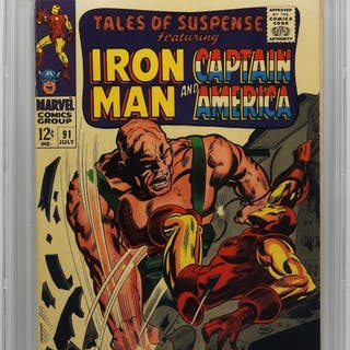 Marvel Tales of Suspense #91 CBCS 6.5 Gene Colan