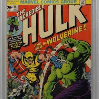 Marvel Comics Incredible Hulk #181 CBCS 3.0