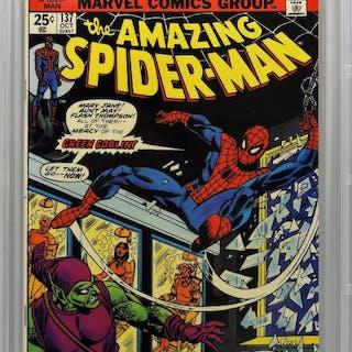 Marvel Comics Amazing Spider-Man #137 CBCS 9.4