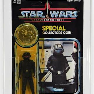 1984 Kenner Star Wars POTF Imperial Gunner CAS 80+