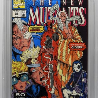 Marvel Comics New Mutants #98 CBCS 9.8