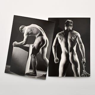 2 Bruce Bellas Nude Male Physique Photos - Bruce Bellas (1909-1974)