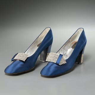 Souliers Christian Dior vintage evening pumps
