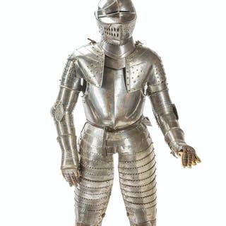 A German cuirassier suit of armor