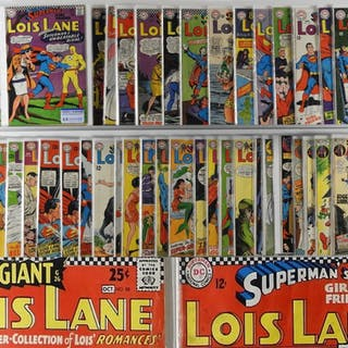 50PC DC Comics Lois Lane #55-118 Near Complete Run