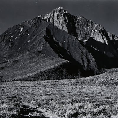 Photograph, Ansel Adams, Mount Morrison, Sierra Nevada (East Side)