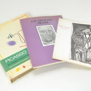 BOOKS: (3) Vols Picasso, 1 signed Edward Quinn