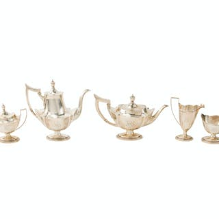 "A Gorham ""Plymouth"" sterling silver tea service"