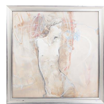 Jurgen Gorg. Reve. Oil on Canvas.