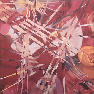 James Rosenquist, 4 Off for Pavilion, 1985